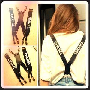 Black & White Suspenders